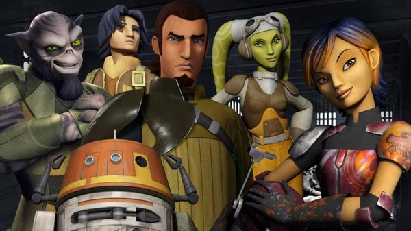 Star Wars Rebels : 3 nouvelles pubs TV