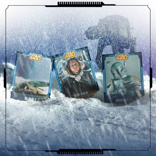 Star wars : Carte à collectionner !