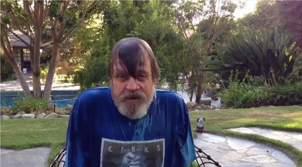 Mark Hamill : Ice Bucket Challenge
