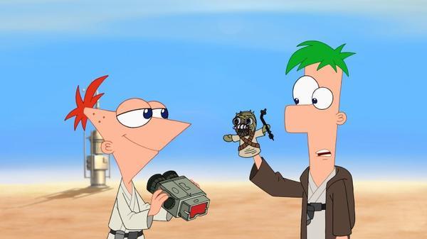 Phinéas et Ferb Mission Star Wars bientôt sur Disney XD
