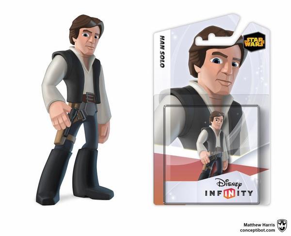 Disney Infinity : Star Wars déjà teasé