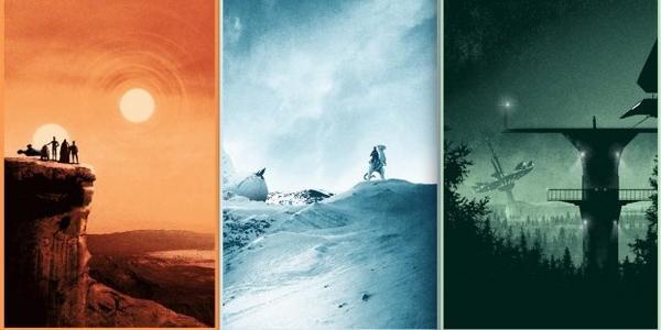 Matt Ferguson offre trois posters à la trilogie originale de Star Wars !