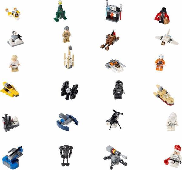 Lego Star Wars : Calendrier de l'avant 2014 c'est pour bientôt !