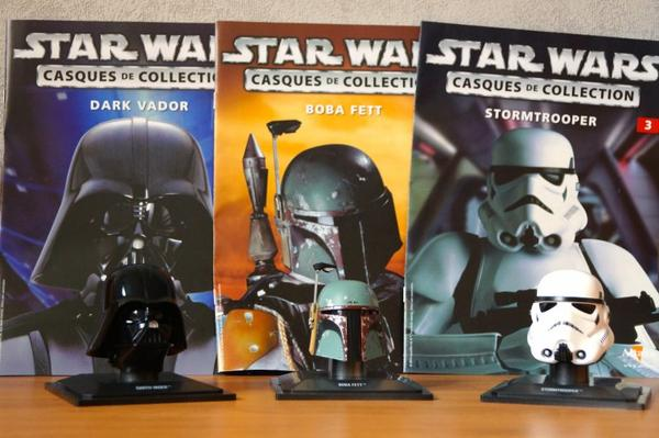 Star Wars : Casques de collection Altaya !