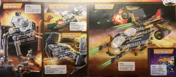 Lego Star Wars : Premier visuel des nouveau sets 2015 !