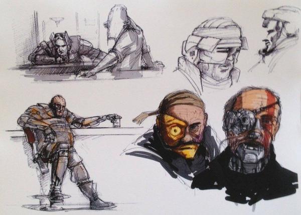 Star Wars 7 : la fuite de 20 concept arts…