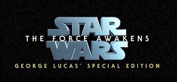 Star Wars 7 : Le trailer façon George Lucas
