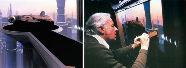 Star Wars : De nombreuses scènes ne sont que des peintures !