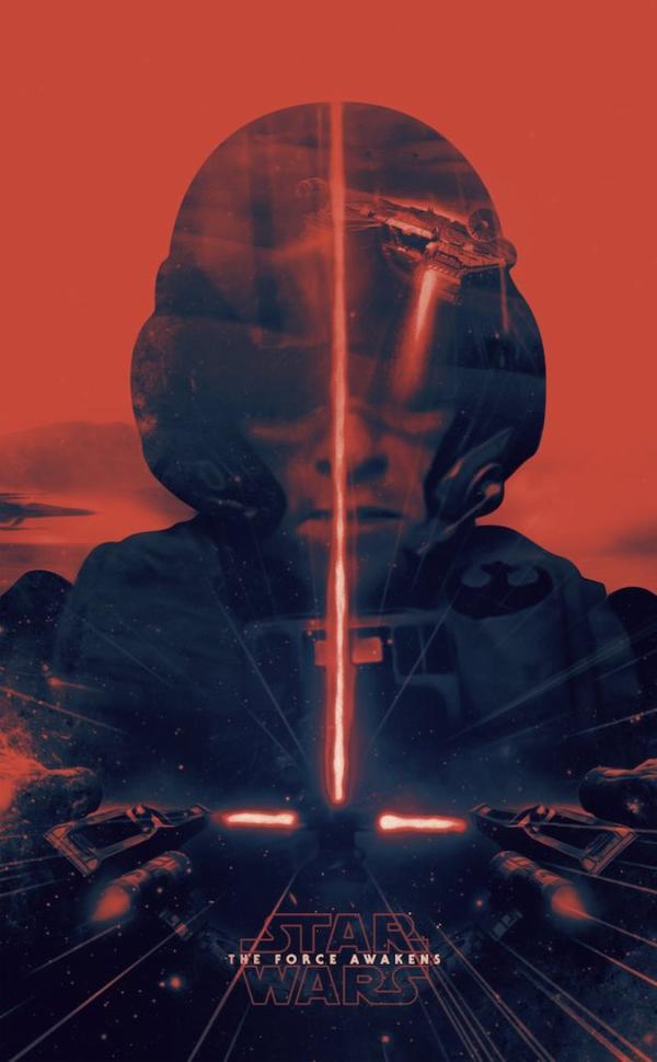 Star Wars 7: Plein d'affiches crée par des fans !
