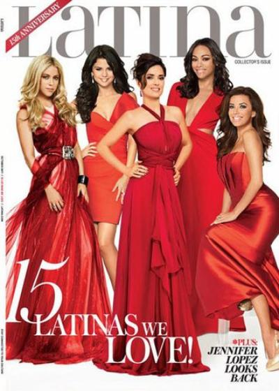 Selena au magazine LATINA