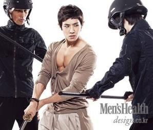 "Joon pour ""Men Health"" Cover Model  :)"