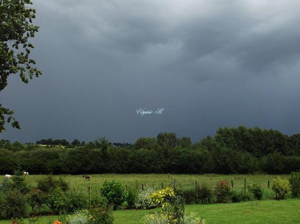 Temps d'orage
