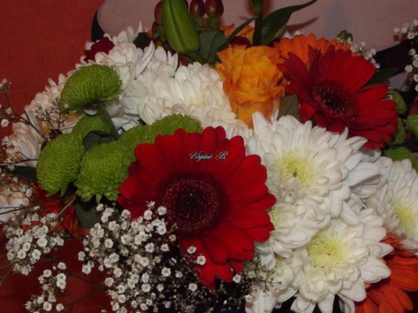 Bouquet de la fête des Mamans offert par mon Mari