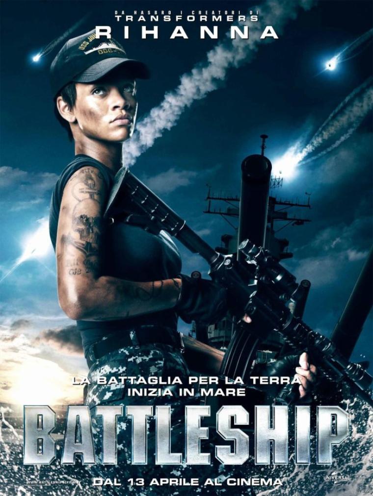 Battleship avec Rihanna <3