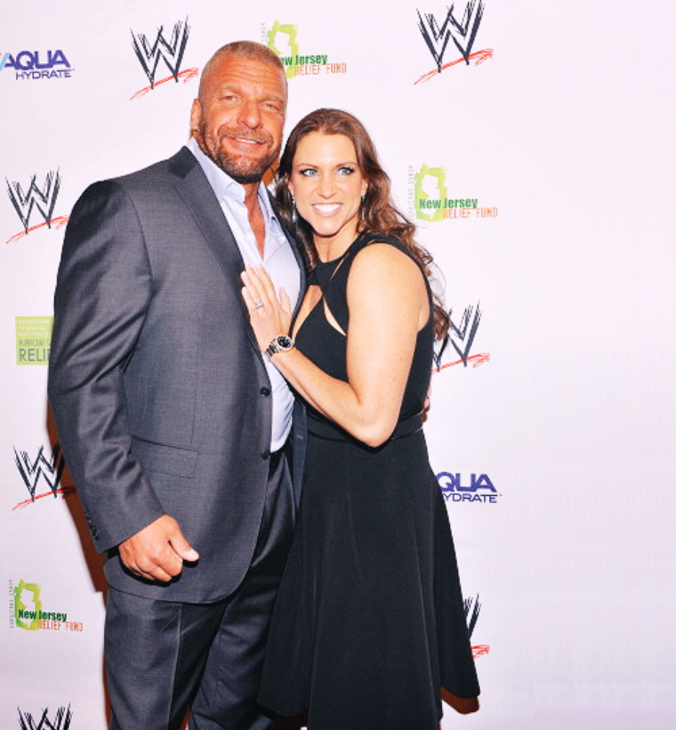 stephanie & triple H