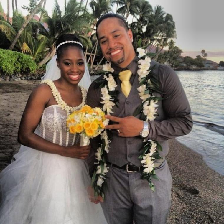 felicitation a jimmy & naomi qui se sont marié