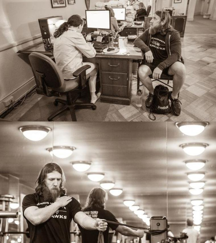 DANIEL BRYAN WRESTLEMANIA DIARY: DAY 2 PHOTOS