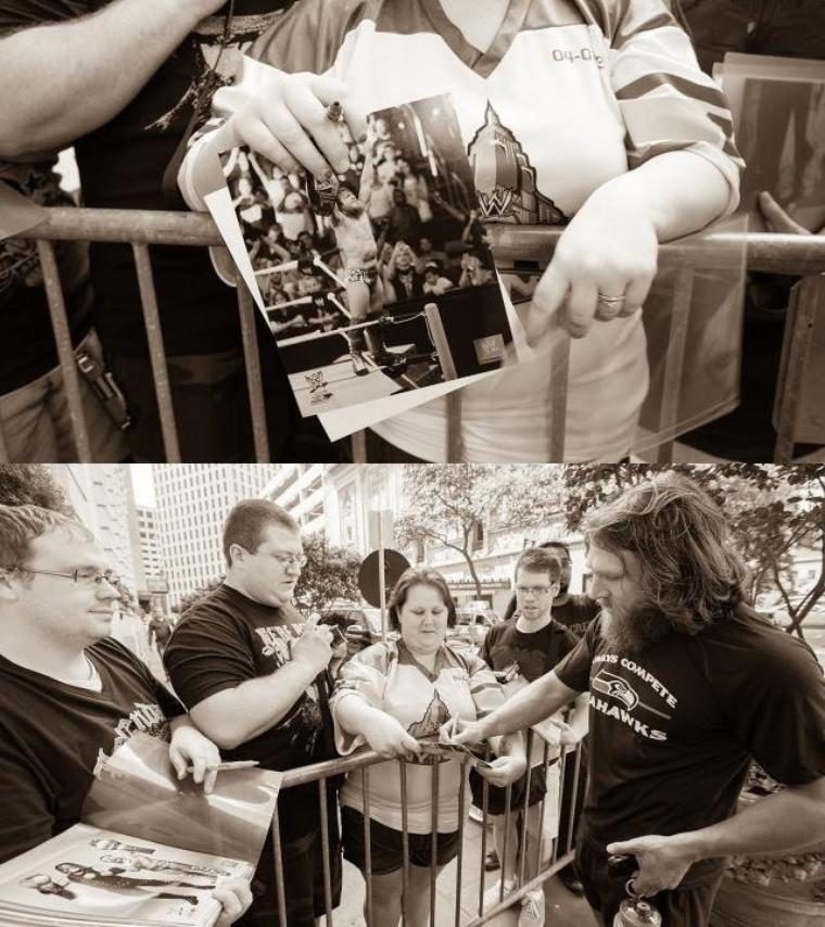 DANIEL BRYAN WRESTLEMANIA DIARY: DAY 2 PHOTOS suite