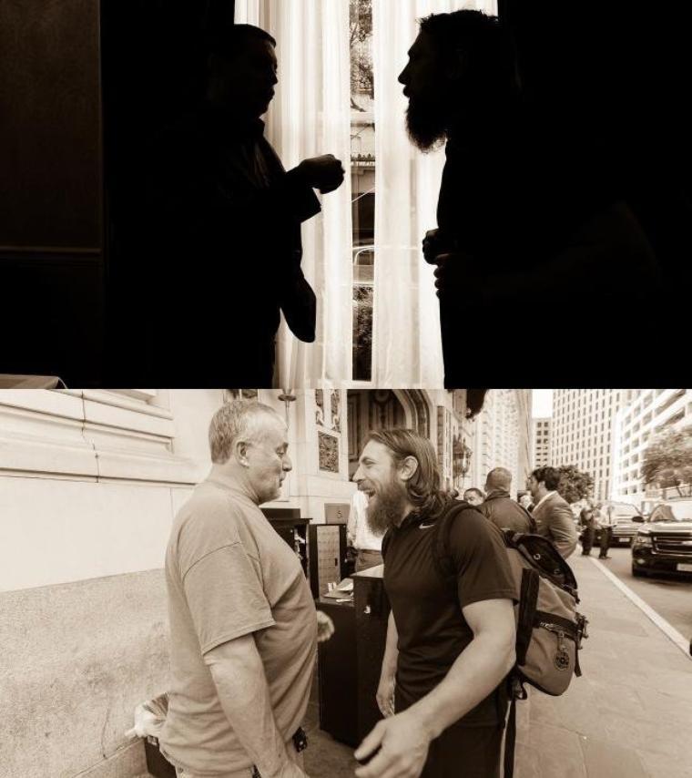 DANIEL BRYAN WRESTLEMANIA DIARY: DAY 3 PHOTOS suite
