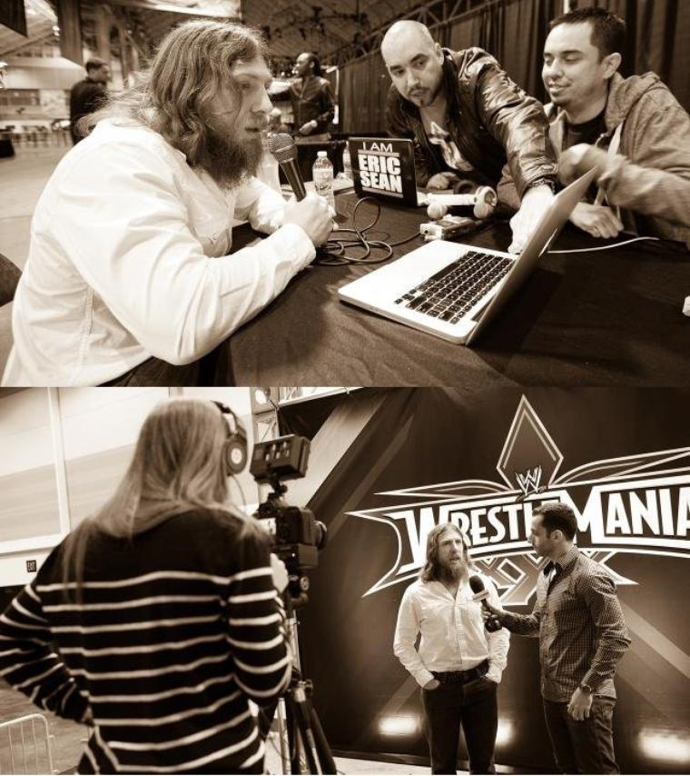 DANIEL BRYAN WRESTLEMANIA DIARY: DAY 4 PHOTOS