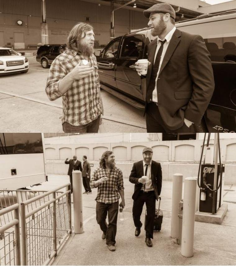 DANIEL BRYAN WRESTLEMANIA DIARY: DAY 5 PHOTOS