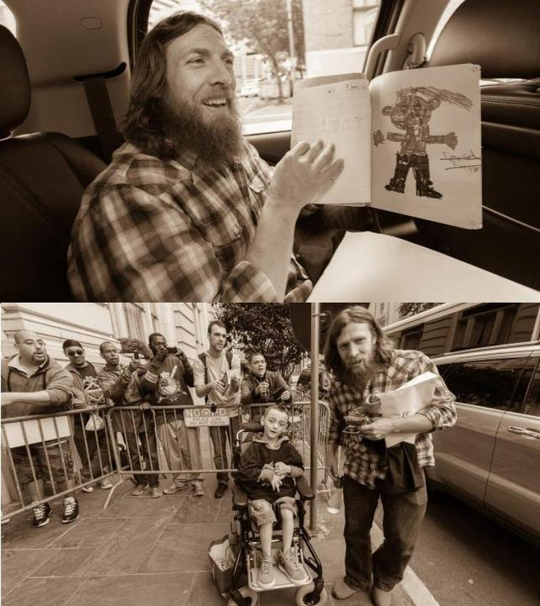 DANIEL BRYAN WRESTLEMANIA DIARY: DAY 5 PHOTOS suite