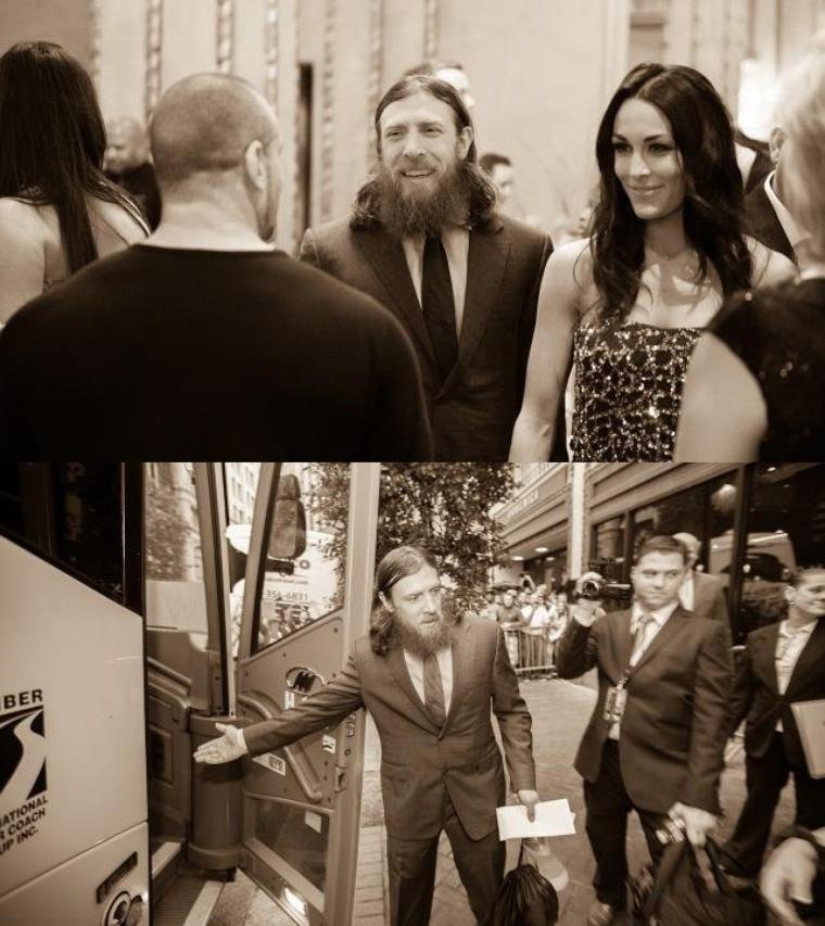 DANIEL BRYAN WRESTLEMANIA DIARY: DAY 5 PHOTOS fin