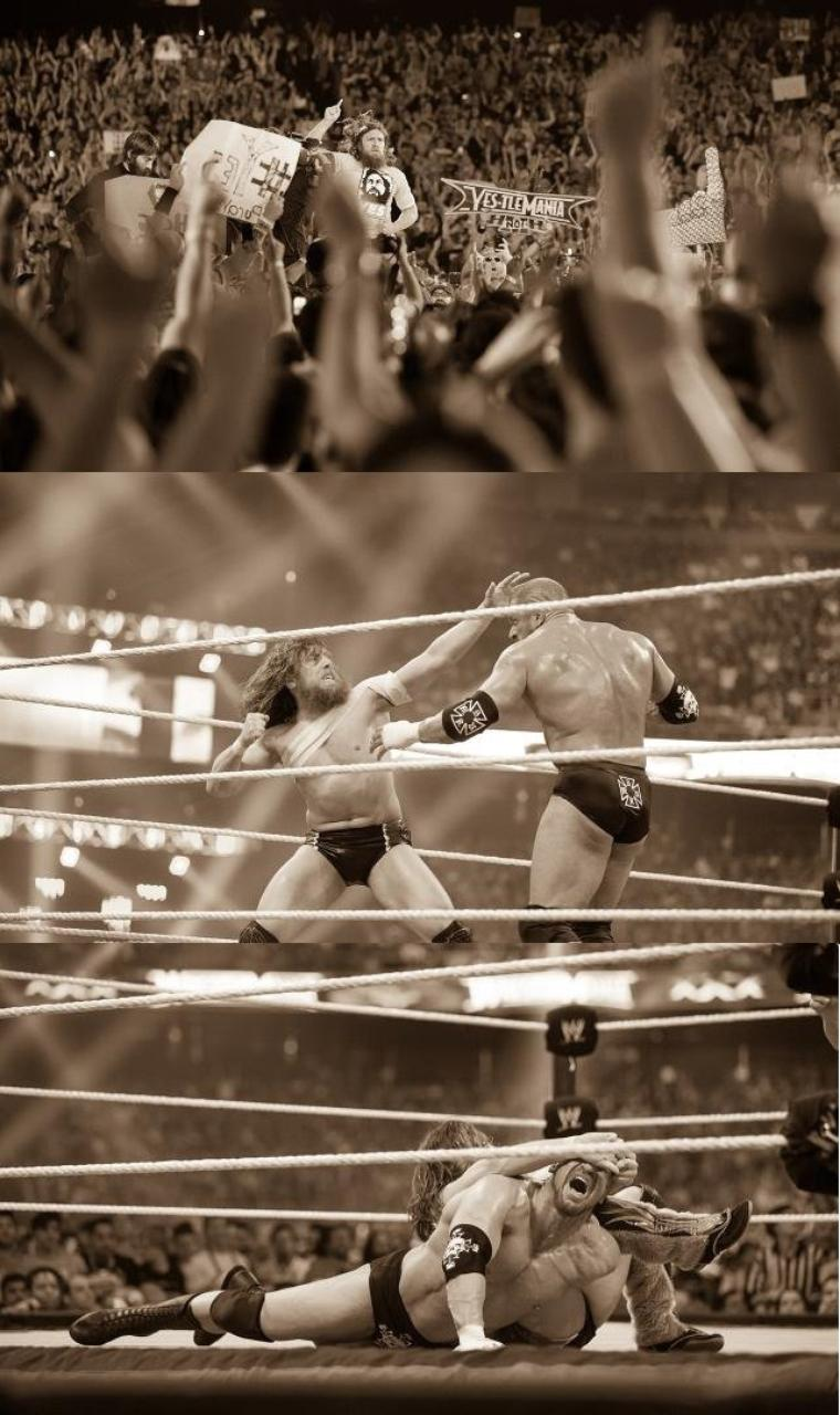 DANIEL BRYAN WRESTLEMANIA DIARY: DAY 6 PHOTOS suite