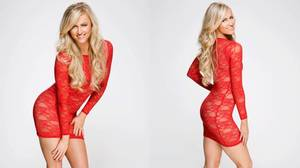 SUMMER RAE IN RED AND BLACK: PHOTOS