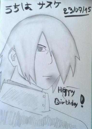 Mes dessins : Raito et Sasuke, première partie !