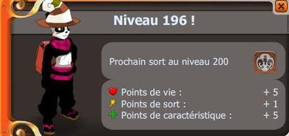 Mon Hurledent et mon up level 196 !