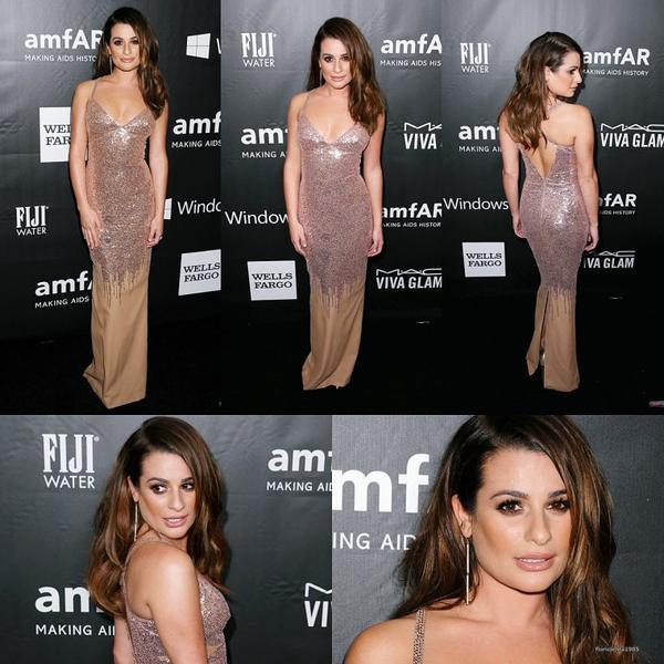 29/10/14:Lea assistée à la 'amfAR LA Inspiration Gala honoring Tom Ford at Milk Studios'