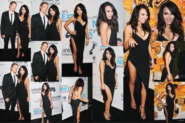 30/10/14:Le cast de Glee a un bal masqué Black & White organisé par UNICEF Dia de los Muertos à Los Angeles
