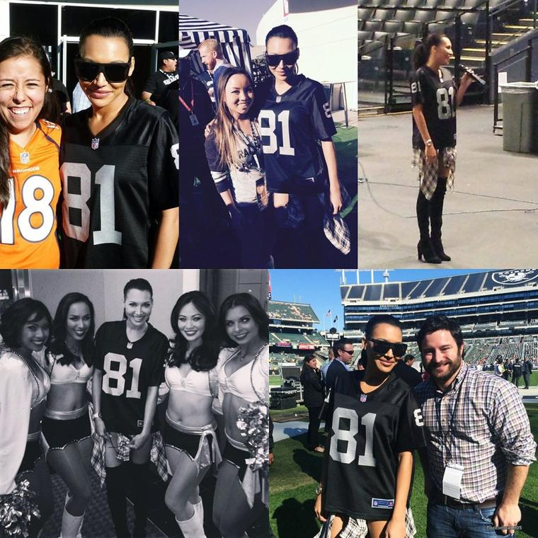 09/11/14:Naya au match des Raiders.