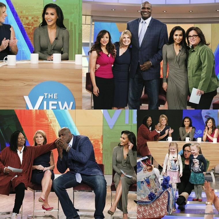 18/11/14:Naya dans l'émission de 'The View'