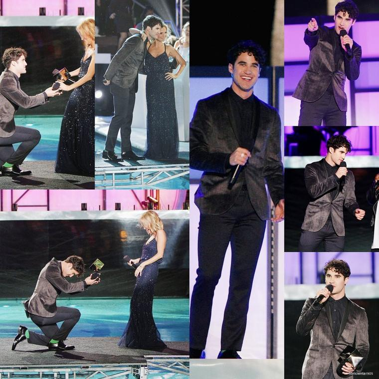 02/12/14:Darren presenté le  NewNowNext Awards Logo TV à Miami Beach, en Floride