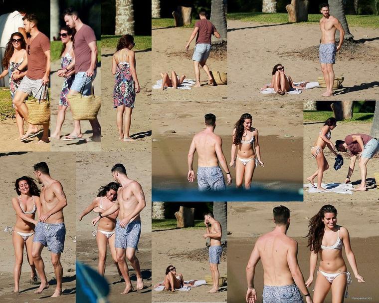 28/12/14:Lea et Matthew en vacance au Mexique