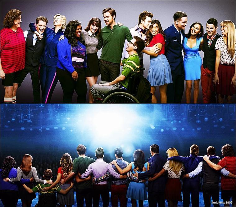 Photo promotionnelle de la saison 06 de Glee