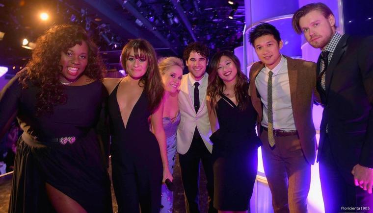 """28/02/15:Le cast de Glee à l'évènement """"the Family Equality Council's 2015"""" à Los Angeles"""