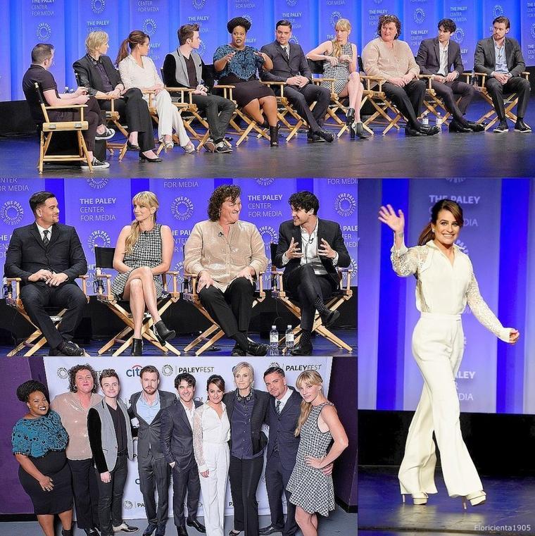 13/03/15: Arriver du cast de Glee à l'événement  'PaleyFest'
