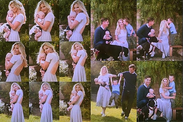 20/06/16:Heather Morris et sa famille pour People Magazine