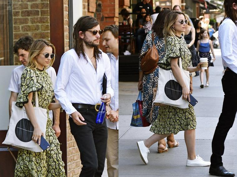 19/06/16:Dianna et Winston Marshall à New York.