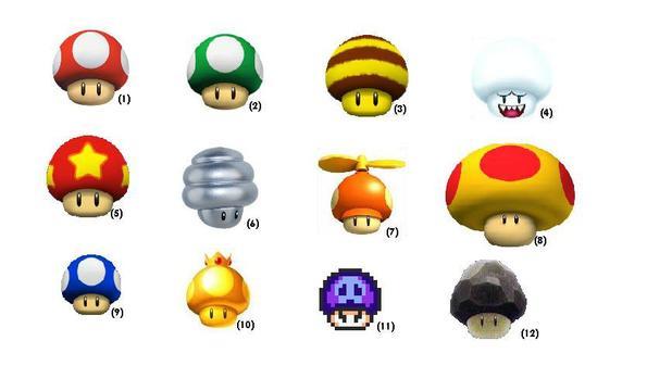 """Inventaire : """"Super Mario"""""""