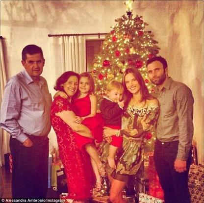 Les célébrités fête Noël!