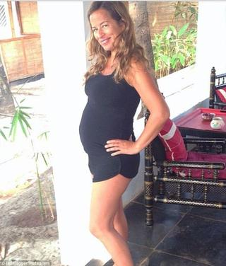 Jade Jagger est Enceinte de 6 mois!