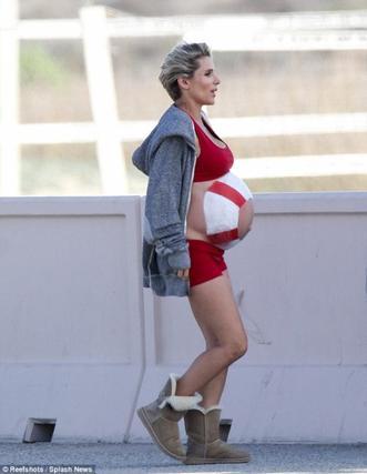 Elsa Pataky & Jenna Fisher enceintes!