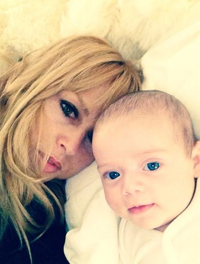 Rachel Zoé et ses fils!