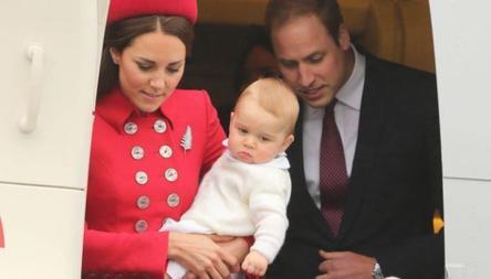 Le Prince George de Cambridge a bien grandit!