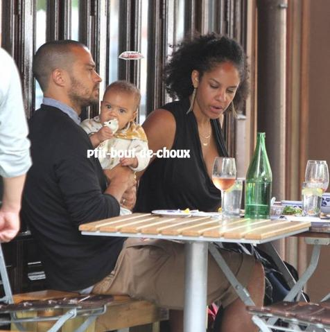 Jesse Williams dévoile sa petite fille Sadie!