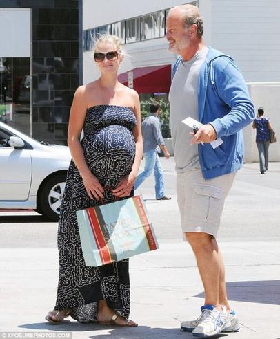Kayte Walsh-Grammer enceinte de 9 mois !